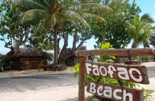 Faofao Beach Fales Apaga Upolu
