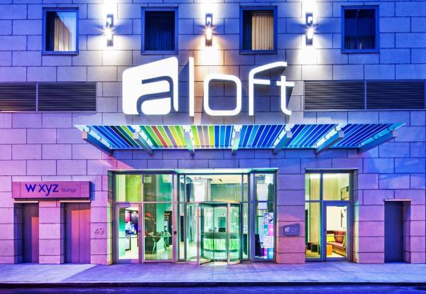 Aloft Manhattan Downtown Financial District 4 Wall Street